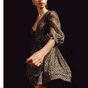 HOST PICK! 💕Olive chiffon babydoll dress